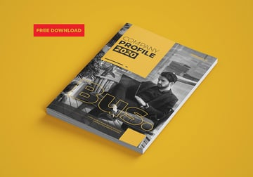 Free InDesign Proposal Template Company Profile