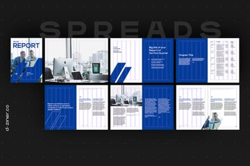 Free InDesign Multi Page Layout Design