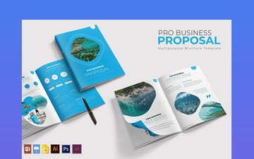 Pro InDesign Business Proposal Template