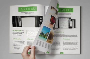 InDesign Layout Template