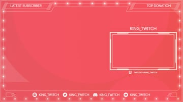 OBS Twitch Overlay Stream Design Template