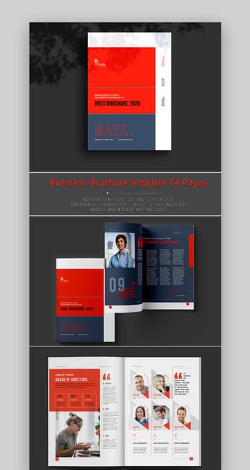 Annual Report Template Design
