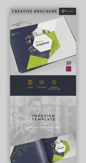 Annual Report Design Layout
