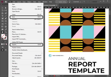 InDesign Export Settings