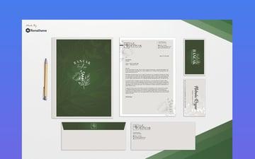 Elegant Stationery Template Design