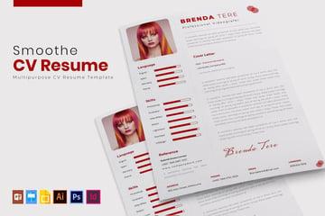 InDesign CV template