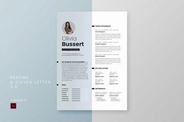 Adobe InDesign CV Template