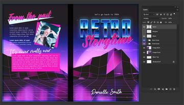 book cover design spine
