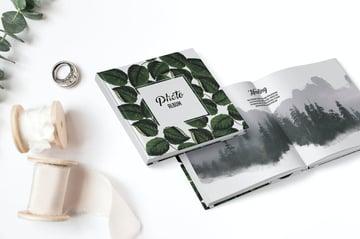 Stylish Book Cover Design Template