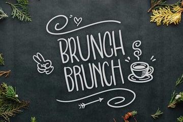 Brunch Brunch Chalkboard Writing Font