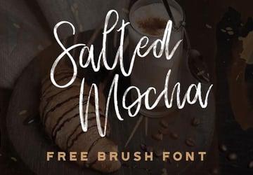 Salted Mocha Free Cafe Font