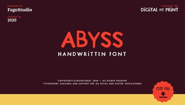 Abyss Free Font
