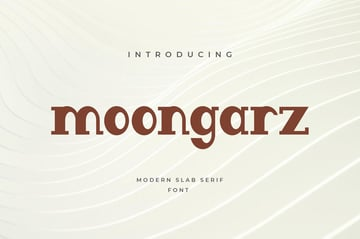 Moongarz Modern Block Font