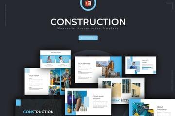construction slide template