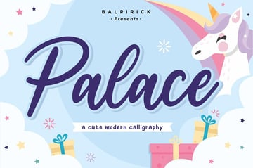 Palace Bold Calligraphy Cricut Font