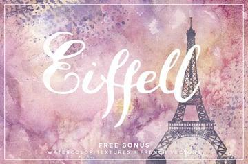 Eiffell Script Handwritten Cricut Font
