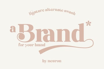 Brand Rounded Modern Didone Font