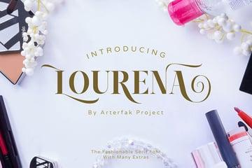 Lourena Didot Style Fonts
