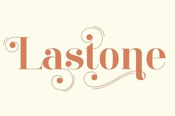 Lastone Elegant Didot Style Fonts