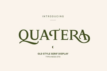 Quatera Display Serif