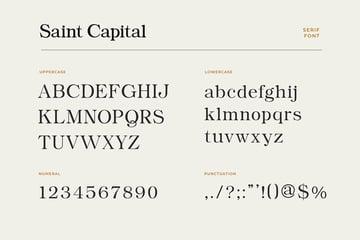 transitional font