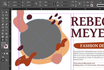 indesign y axis