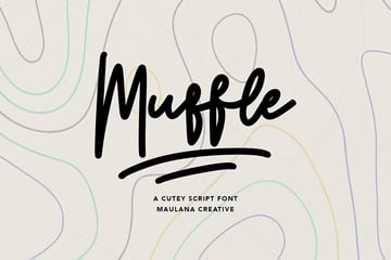 cute script font