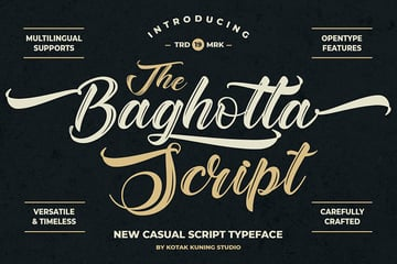 decorative script font