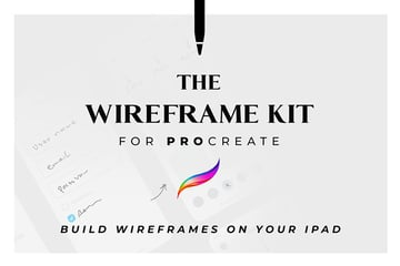 The Wireframe Kit for Procreate