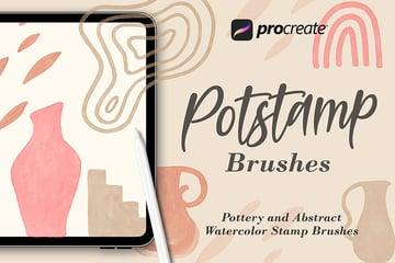 Potstamp - Procreate Brushes