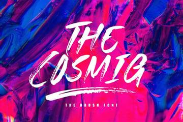 The Cosmig - Brush Font