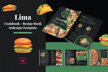 Recipe Book Indesign Template