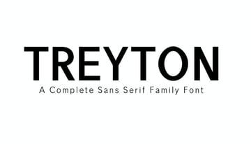 Treyton Sans Serif Font Family