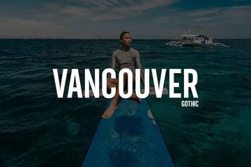 Vancouver - Gothic Typeface + WebFonts