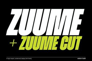 Zuume Font Family