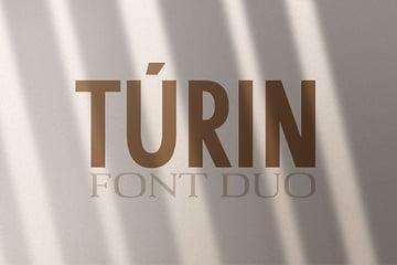 Túrin - Sans-Serif & Serif Duo