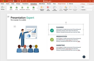Animate Thumbnails in PowerPoint