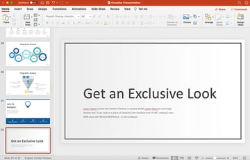 final powerpoint slide