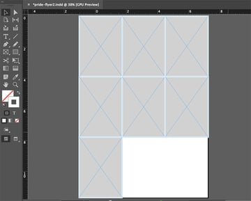 copy and paste indesign shapes