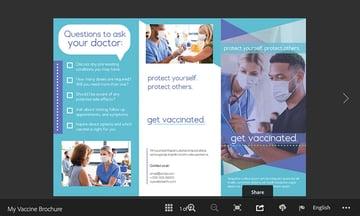 indesign online brochure