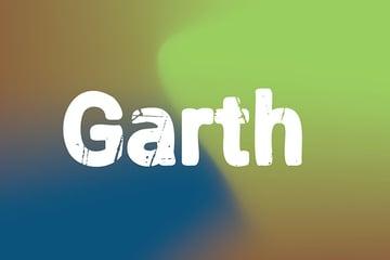 Garth Distressed Font