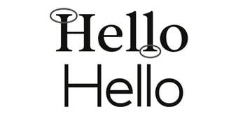 sans serif vs serif fonts