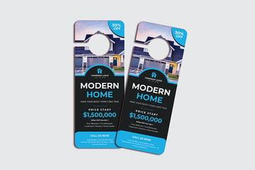 Modern Home Door Hanger