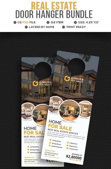 Real Estate Door Hanger Bundle