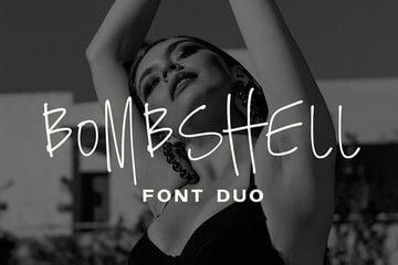 Bombshell Font Duo