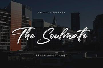 The Soulmate - Brush Script