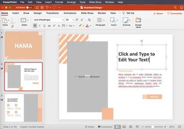 powerpoint edit text