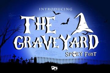 The Graveyard - Spooky Font