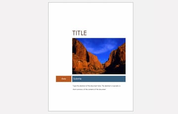 free ms word templates