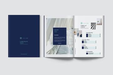 stylish business report template